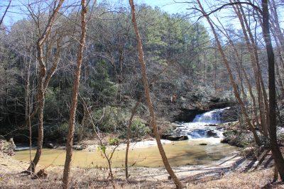 Waterfall at Walnut Creek Preserve