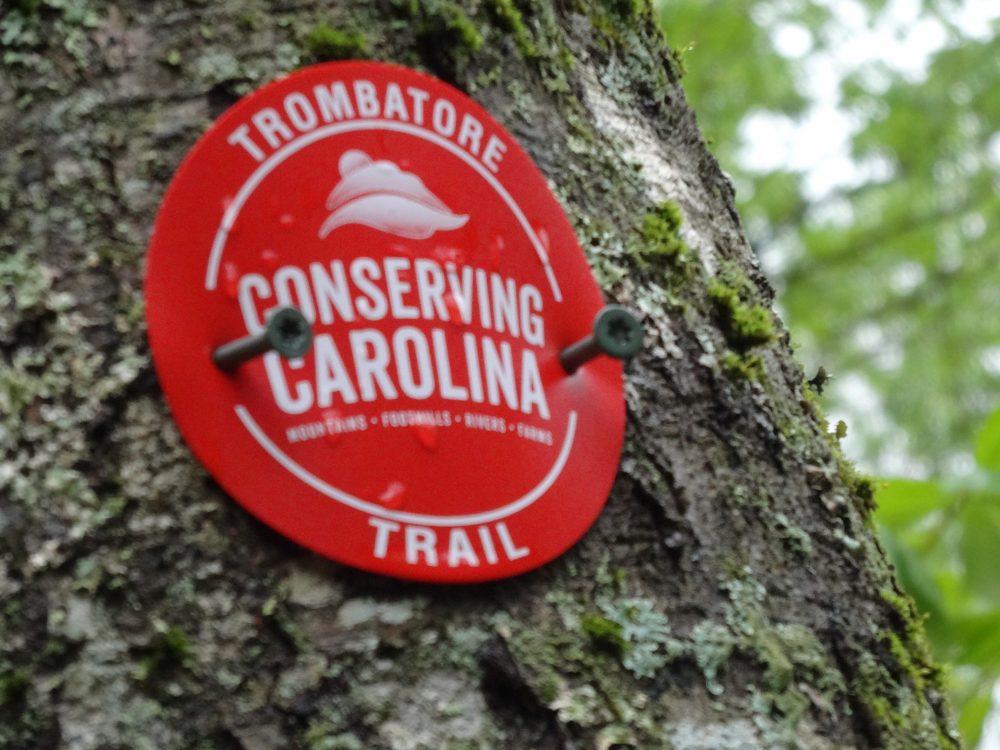 Trombatore Trail Marker