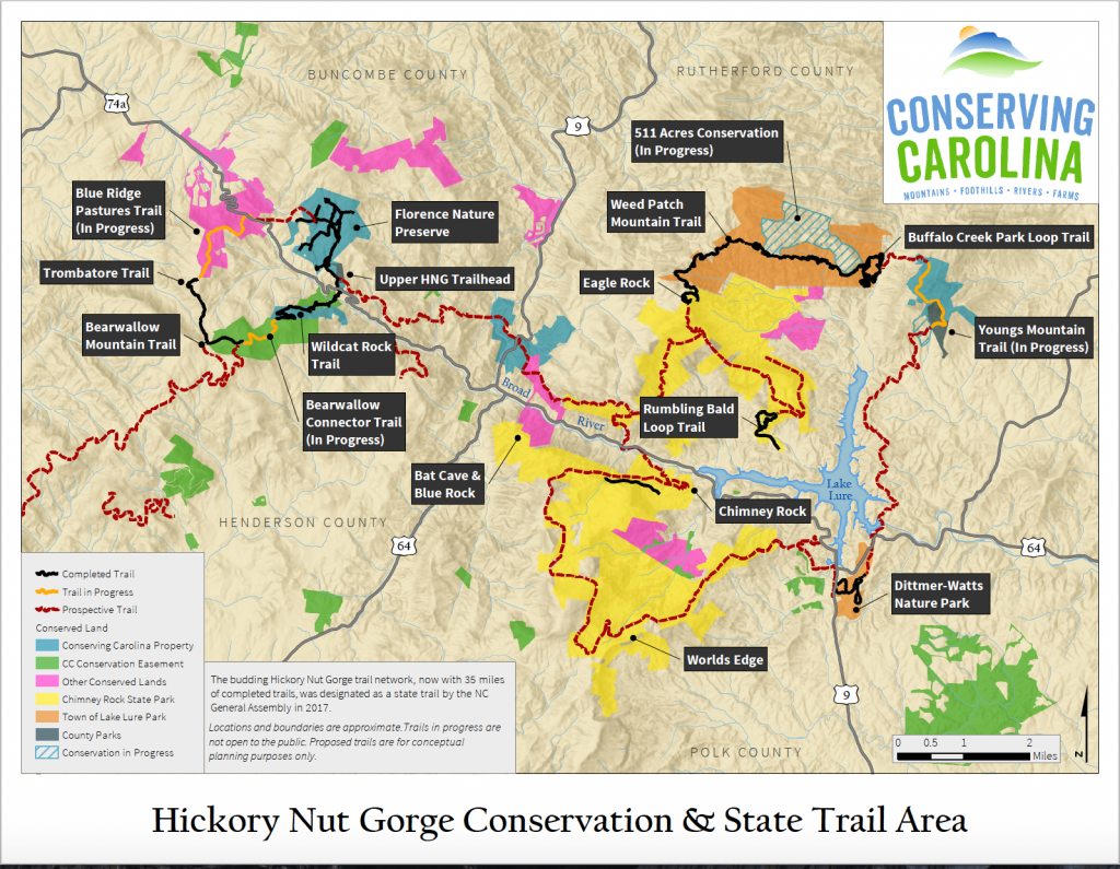 Hickory Nut Gorge State Trail | Conserving Carolina
