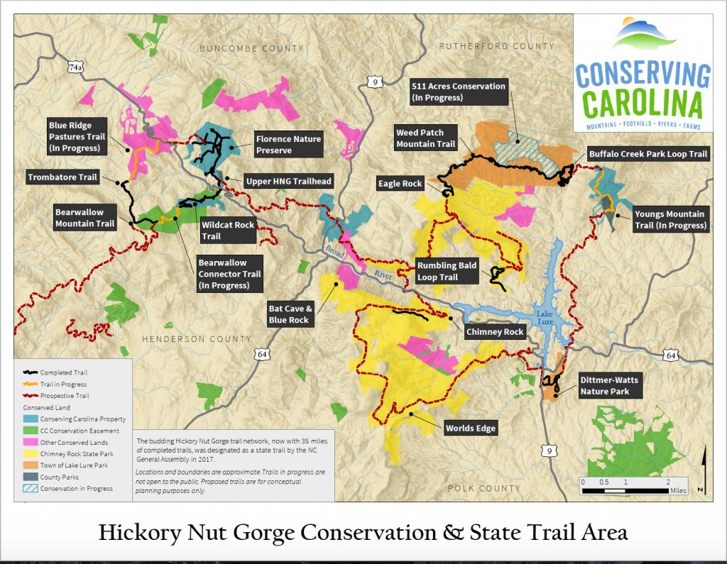 Hickory Nut Gorge State Trail | Conserving Carolina
