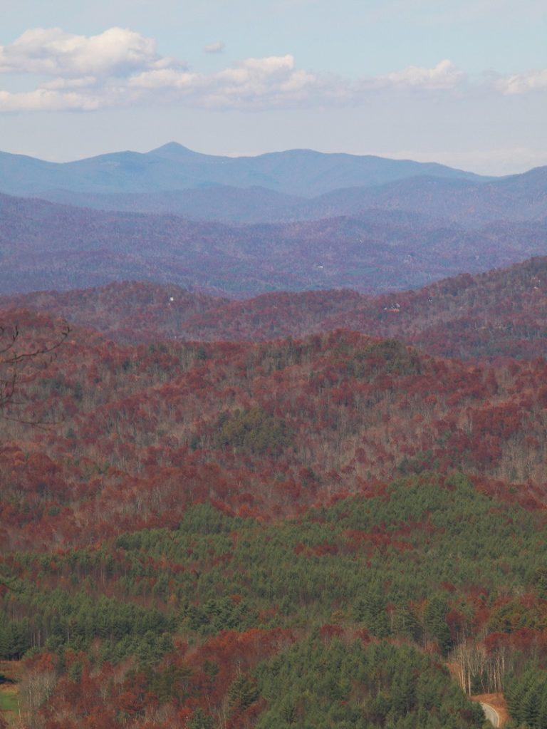 View from Sassafrass Mountain