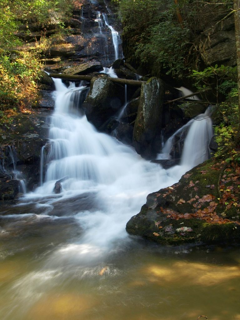Hidden Falls in Headwater State Forest