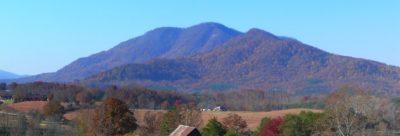 Little White Oak Mountain in Polk County
