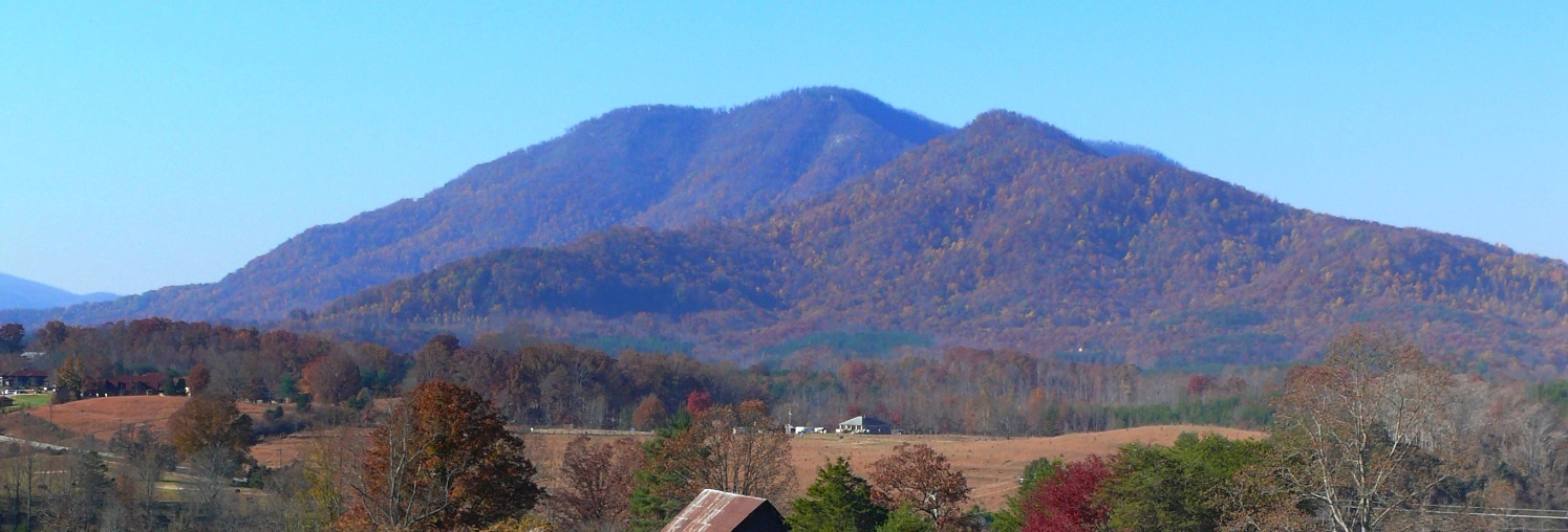Little White Oak Mountain in Polk County