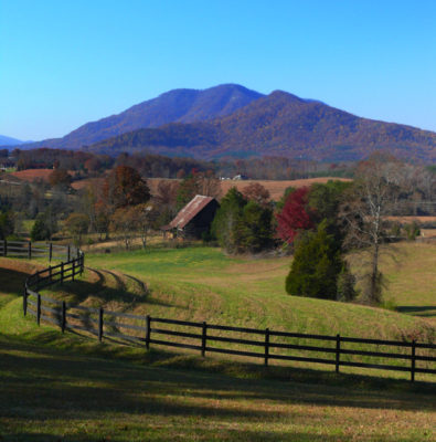 Little White Oak Mountain, Polk County NC