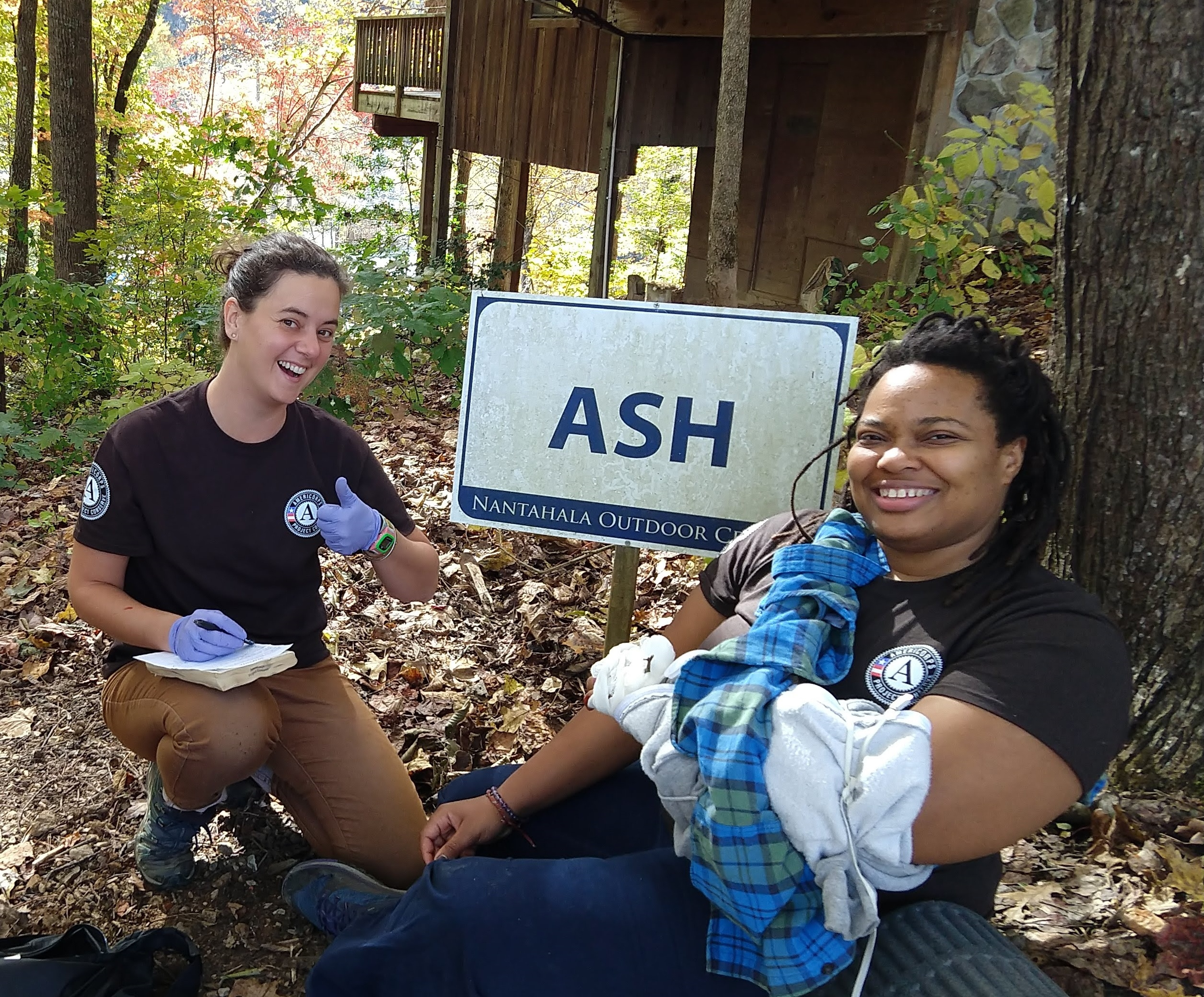 AmeriCorps at the Nantahala Outdoor School