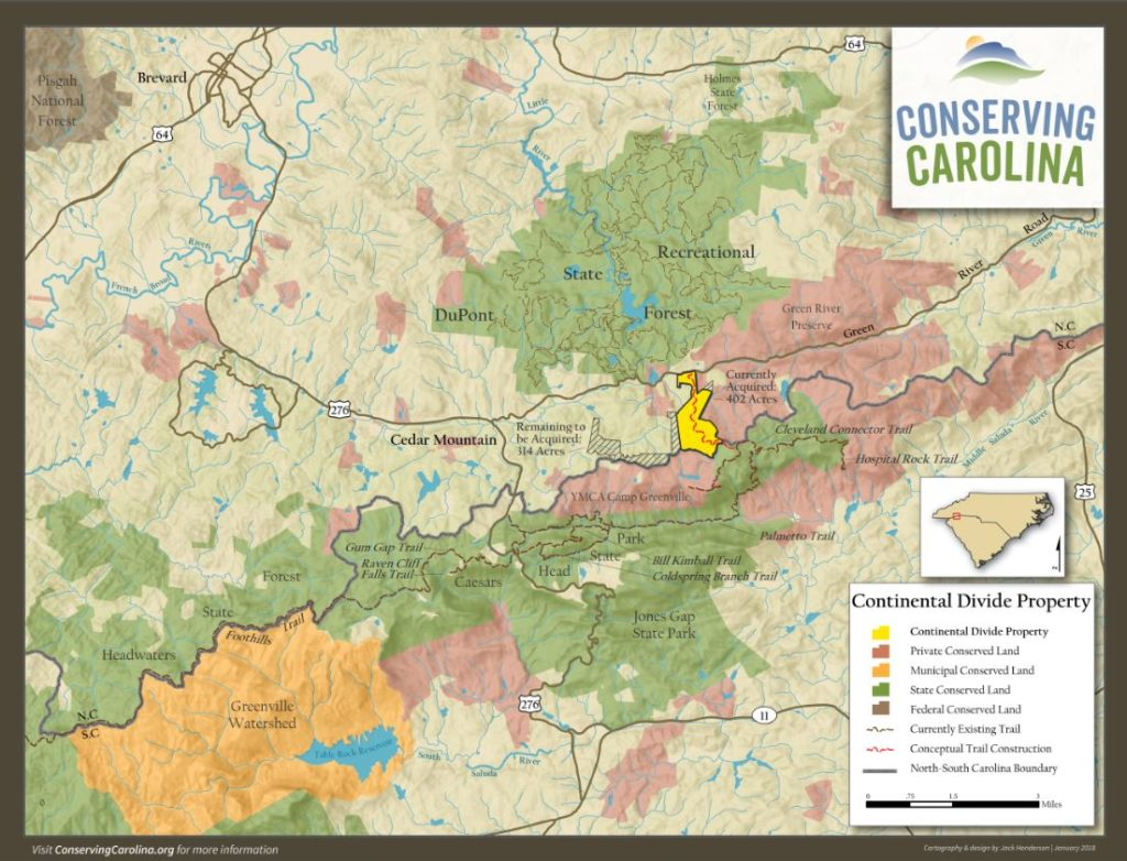 Dupont State Forest Map 402 Acres Added to DuPont State Recreational Forest | Conserving