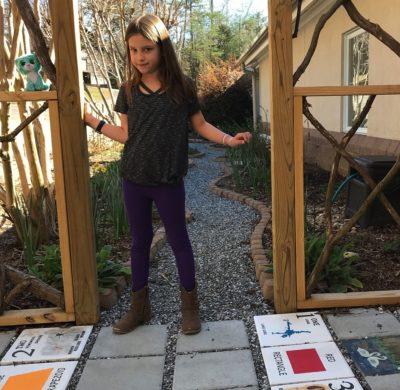 Delaney at the Little Garden that Grew