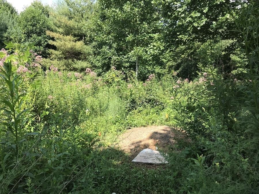 Grave at Carolina Memorial Sanctuary