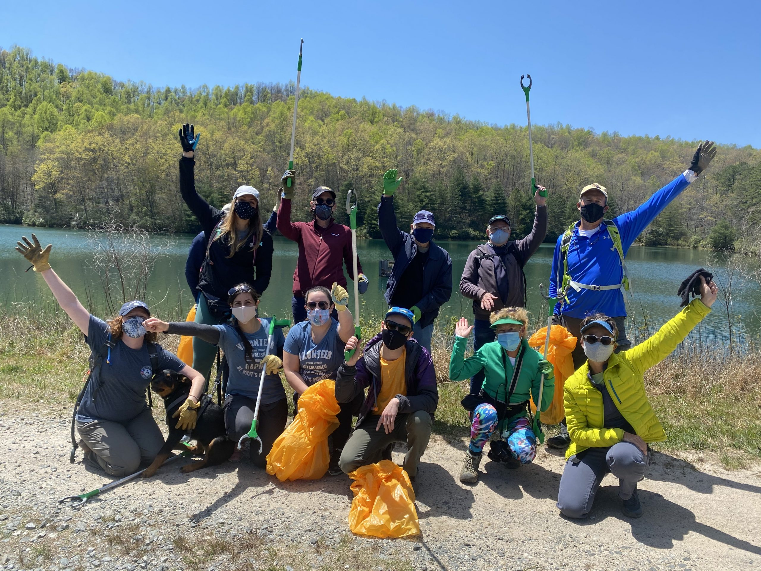 Earth Day Litter Cleanup Crew at DuPont