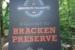 bracken mountain sign