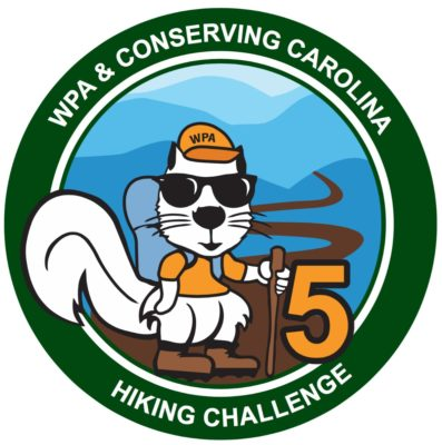 Hiking Challenge 5 Patch
