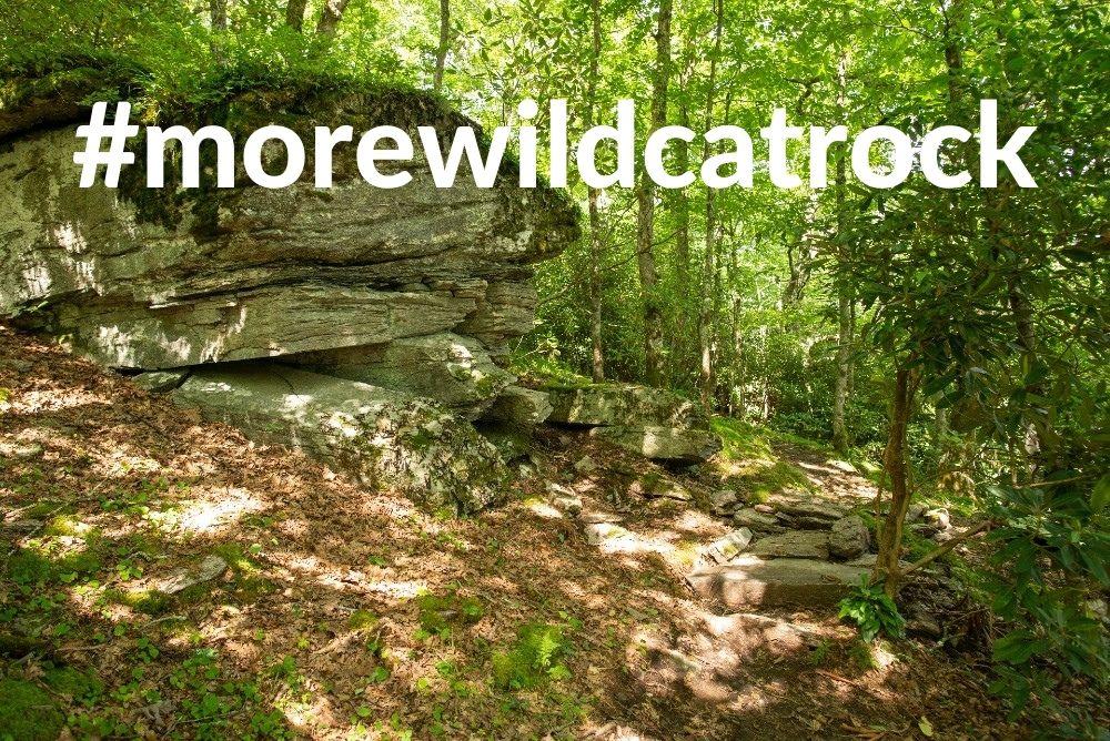 Boulders on Wildcat Rock Trail
