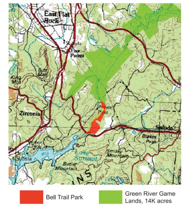 Bell Park Map