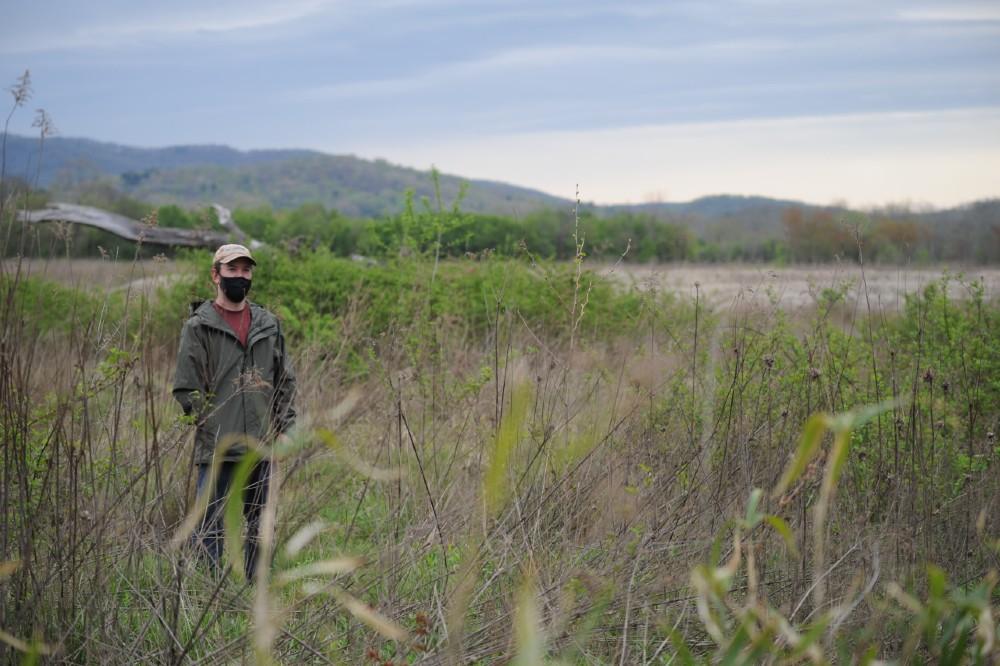 David Lee at Mouth of Mud Creek