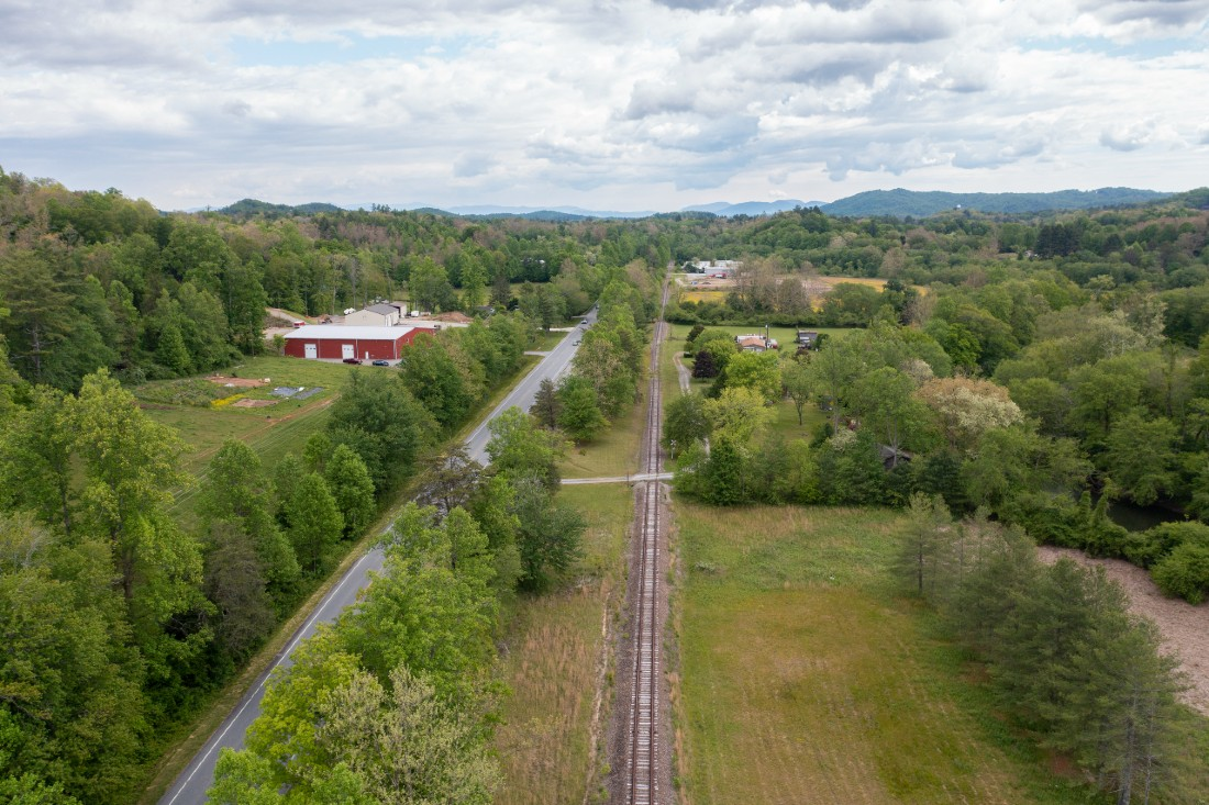 Ecusta rail line